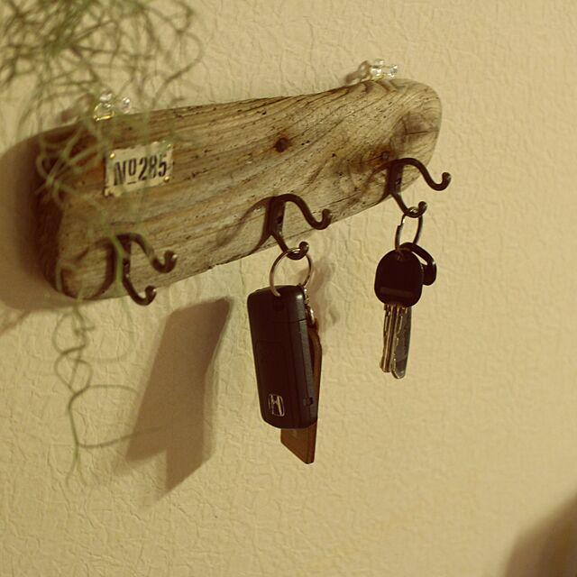On Walls,ハンドメイド,インテリア,流木,手作り,ナチュラル,セリア,雑貨 hirarinの部屋