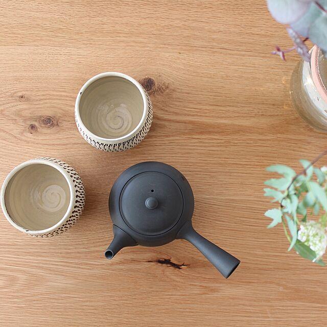 Kitchen,小鹿田焼,湯のみ,急須,東屋,シンプルな暮らし,お茶道具 kuma__0723の部屋