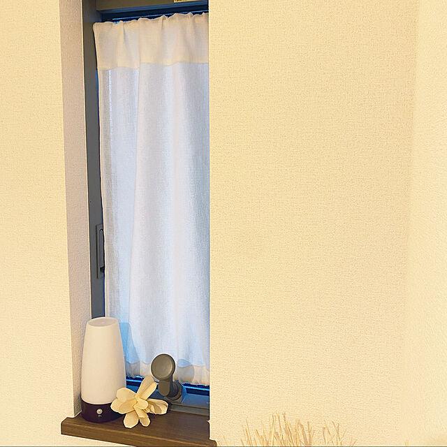 ダイソー,ニトリのカーテン,手作りカーテン,レースカーテン,つっぱり棒,小窓カーテン,目隠し,On Walls,わたしのDIY&リメイクアイデア meguminの部屋