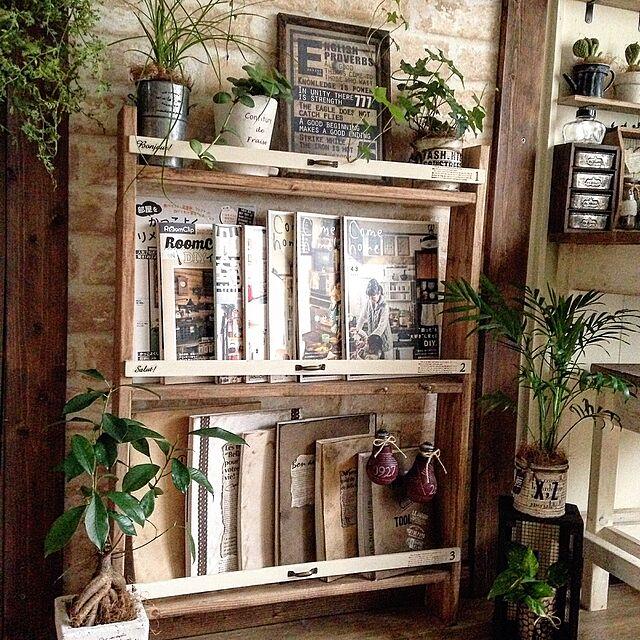 On Walls,本棚,100均,DIY,手作り家具 arch-to-meetの部屋