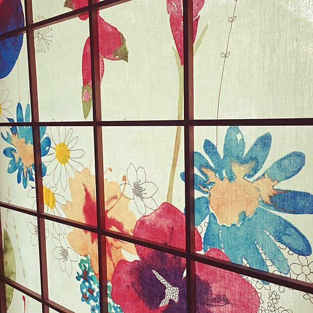 On Walls,障子リメイク,障子,IKEA,北欧 Matsuriの部屋