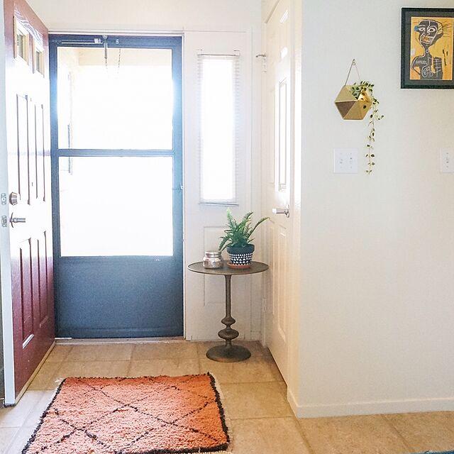 Entrance,Basquiat,ミックススタイル,モダンボヘミアン,ボヘミアン,Boho Style,モロッコ,モロッコラグ,バスキア,ベニワレン freakycatの部屋