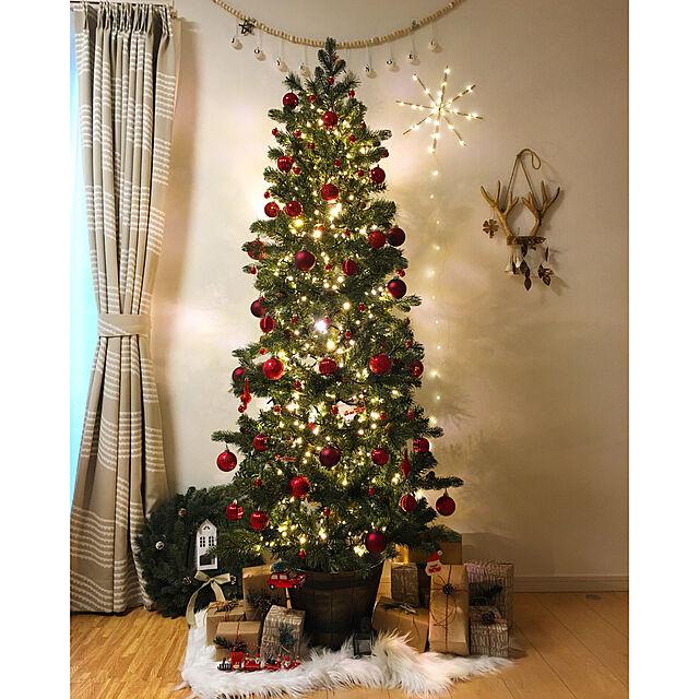 Lounge,クリスマス,クリスマスデコレーション,クリスマスディスプレイ,クリスマスツリー,クリスマスツリー180cm,北欧,北欧インテリア,IKEA,海外インテリアに憧れる,FlyingTiger,フライングタイガー,クリスマスツリーの足元,なかなか訪問できずゴメンナサイ,いつもいいねやコメありがとうございます♡ haru711の部屋