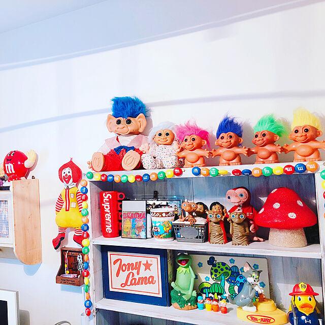 My Shelf,子供部屋男の子,子供部屋,アメリカン,アメリカンポップ,たな 収納,インテリア Julieの部屋
