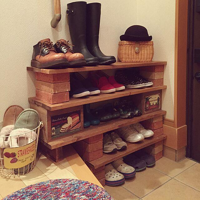私にもできるかも♡プチプラアイテムで靴箱DIYにトライ
