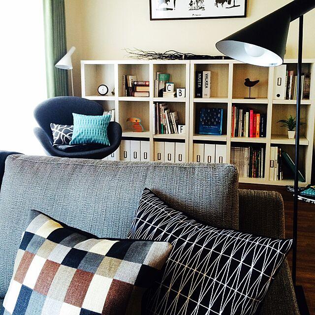 Lounge,北欧インテリア,北欧風,北欧,ヤコブセン,アイラーセン,IKEA,IKEAのクッションカバー shige88の部屋