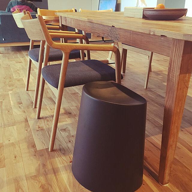 Lounge,スタッキングスツール,無印良品,pepeアームチェア,宮崎椅子,沖縄の家,平屋の家 mametanの部屋