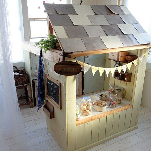Overview,DIY,子供小屋,子供部屋 madoの部屋