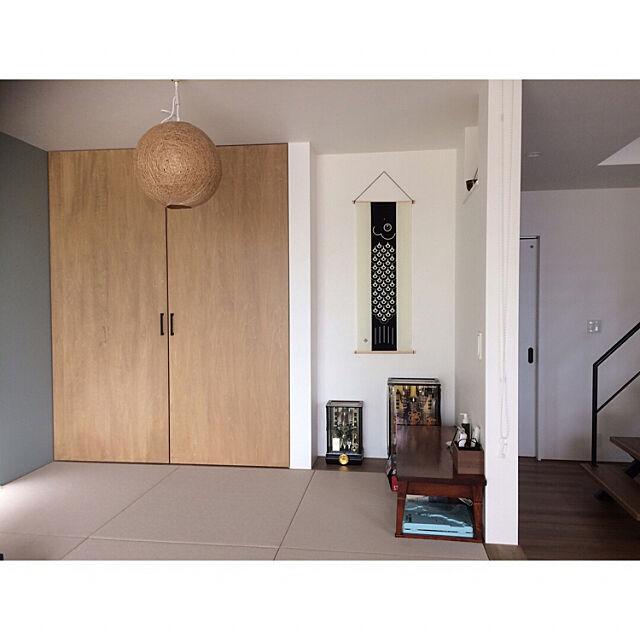 Overview,床の間,小上がり和室,和室,こいのぼり kayo_ieの部屋