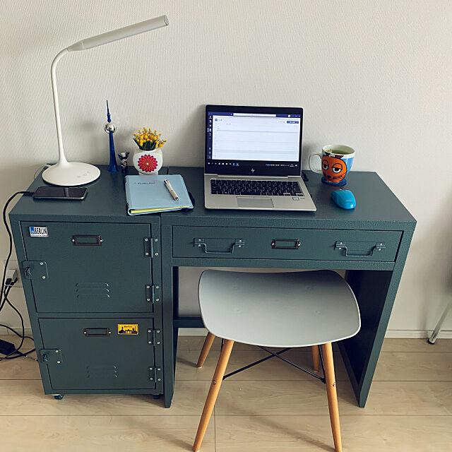 テレワークスペース,一人暮らし,レトロ,My Desk JENSの部屋