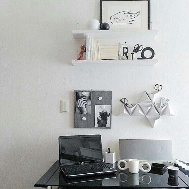 My Desk,書斎,DIY女子,DIY,デスクまわり,デスク周り KAORIの部屋