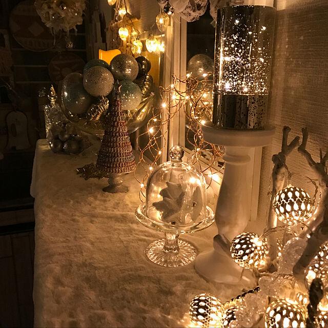 My Shelf,フランフラン,ニコアンド,クリスマス,ニトリ2017クリスマスモニター,オーナメント,ニトリ,IKEA,流木,ナチュラルキッチン,古い賃貸一戸建て,マクラメタペストリー大好き♡,リボン yumi64の部屋