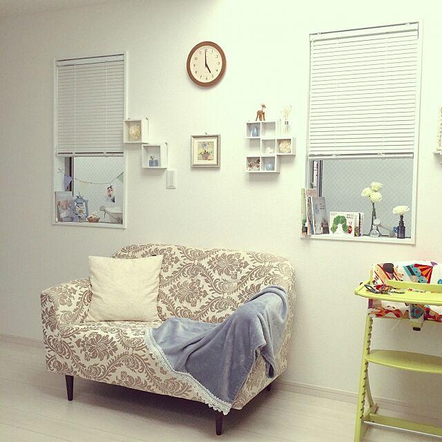 Lounge,seria,すくすくチェア,ダマスク柄,arne,ソファ Sa.naの部屋