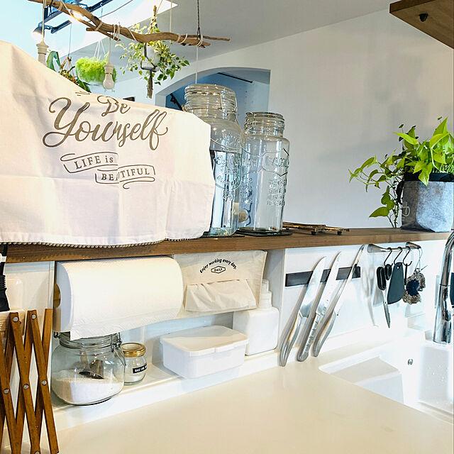 食洗機用洗剤,クレンザー,キッチンクリーナー,キッチンペーパー,重曹,手の届くところ,掃除用品,ニッチ,キッチンの工夫,Kitchen colonの部屋