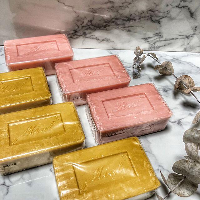 石鹸,サボンドマルセイユ,新商品買ったよ!,ダイソー,100均 Megumiの部屋
