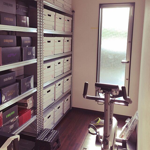 My Shelf,バンカーズボックス,メタルシステム,カフェ風,ミッドセンチュリー,一人暮らし nelson51の部屋