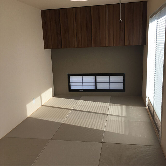 ホスクリーン,灰桜色,和紙畳,アクセントクロス,和室 tomo34の部屋