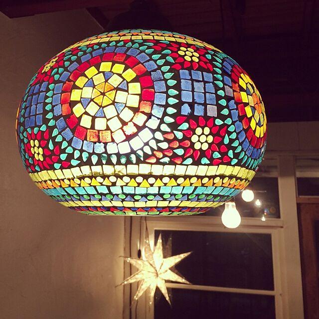 Overview,チャイハネ,照明,モザイクランプ,モロッコ futakobuの部屋