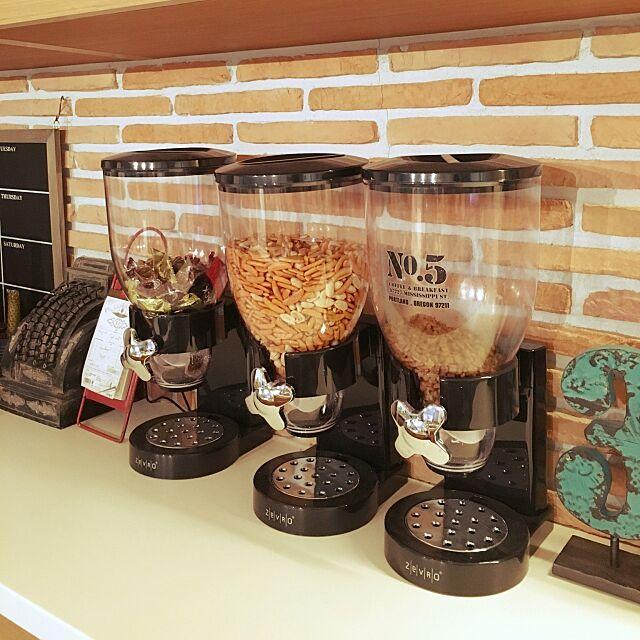 Kitchen,フードディスペンサー♡,楽天で買ったもの,ZeVRO yokkochanの部屋