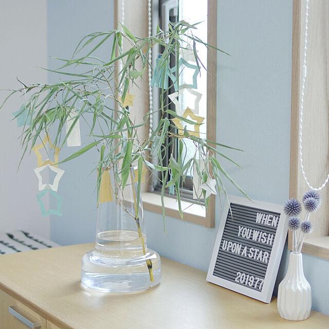 My Desk,七夕,ディスプレイ,七夕飾り,折り紙,レターボード Shooowkoの部屋