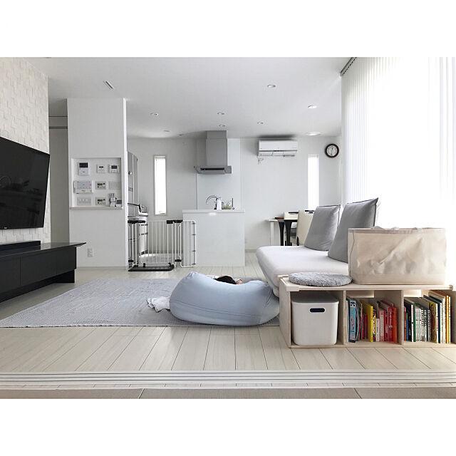 ホワイトインテリア,Pana Home,Panasonic homes,モノトーン,シンプルライフ,パナソニックホームズ,北欧モダン,北欧ナチュラル,シンプルインテリア,パナホーム ,シンプリスト,シンプルな暮らし,こどもと暮らす。,こどものいる暮らし,おうち時間,Lounge mattari_mikanの部屋