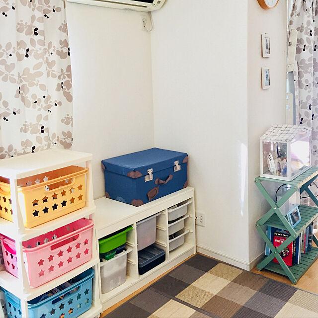 Lounge,子供のいる暮らし,暮らしの知恵,IKEA,おもちゃ収納 eryngiiの部屋
