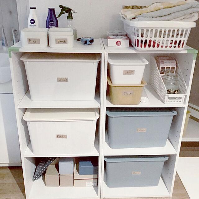 My Shelf,カラーボックス 収納,3Coins,プチプラ,100均,ダイソー,便利グッズ Irukaの部屋