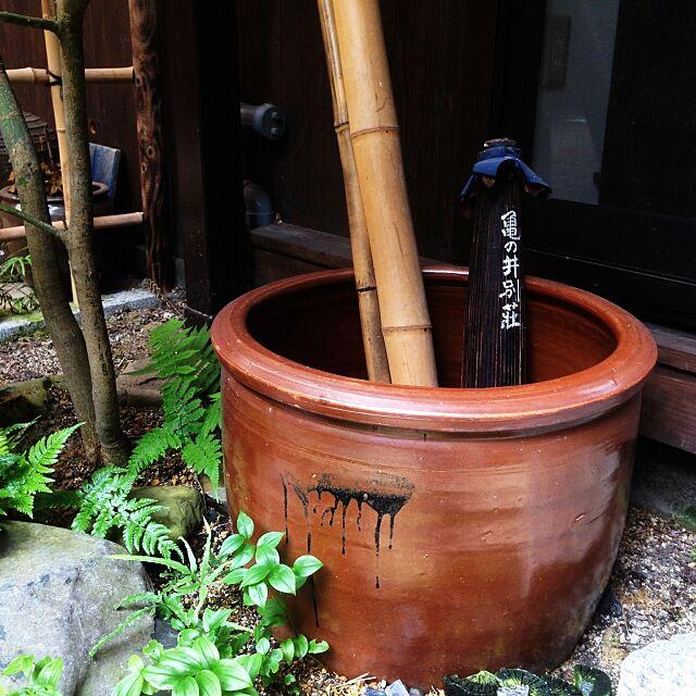 Entrance,亀の井別荘,傘立て KAZの部屋