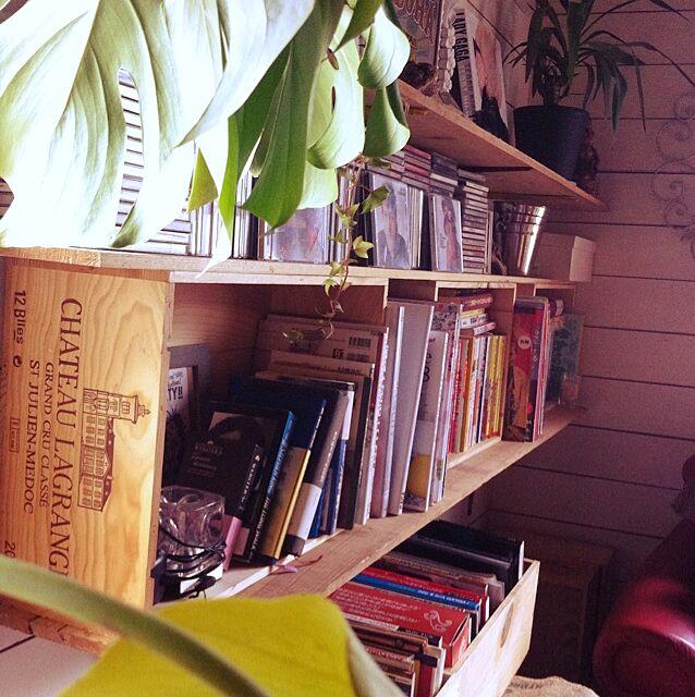 My Shelf,DIY,本棚DIY asobiの部屋