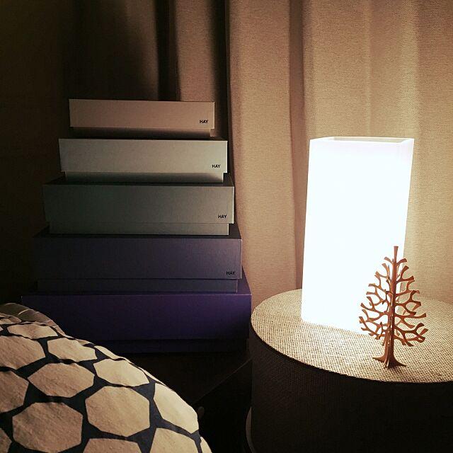 Bedroom,lovi,IKEA,北欧,照明,一人暮らし,HAY,hayboxbox sariの部屋