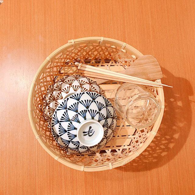 D&DEPARTMENT,民芸品,平茶碗,一人暮らしインテリア,白山磁器,白山陶器平茶碗,一人暮らし,竹製品,Kitchen Dariaの部屋