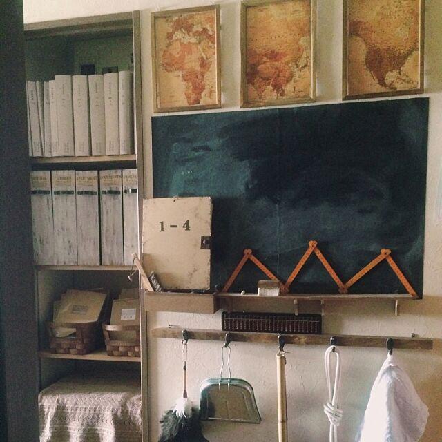 Entrance,ポスター,学校風黒板 hinano1017の部屋