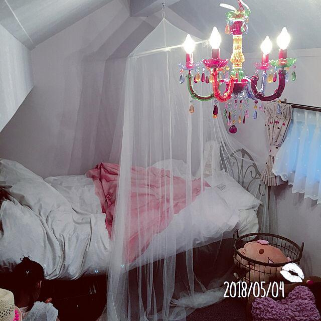 Overview,小魔女の部屋,屋根裏部屋改装,子供部屋女の子,子供部屋 eregonの部屋