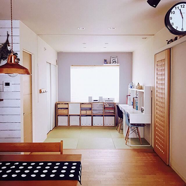 壁紙屋本舗,ドライフラワー,和室,センタークロス,unico,ダルトン,ジャーナルスタンダードファニチャー,IKEA,My Desk tokoの部屋