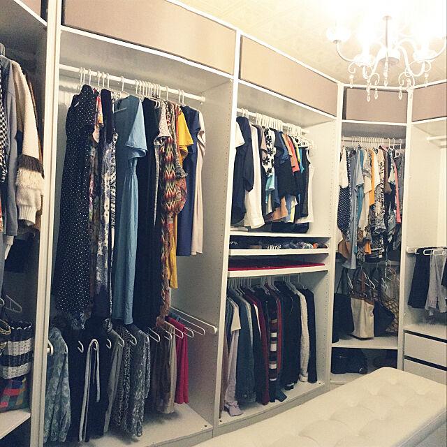 レイアウト変更,PAX,IKEA,衣装部屋,ウォークインクローゼット,パノラマ撮影,My Shelf nanaの部屋
