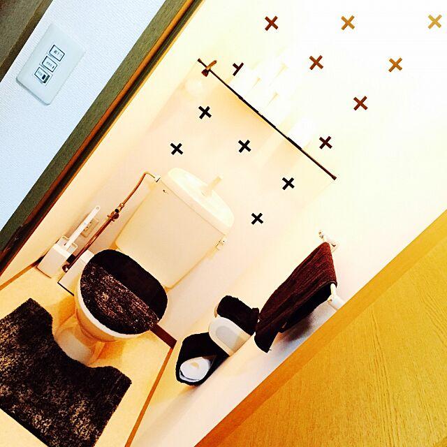 Bathroom,マステ,マスキングテープ,モノトーン a.の部屋