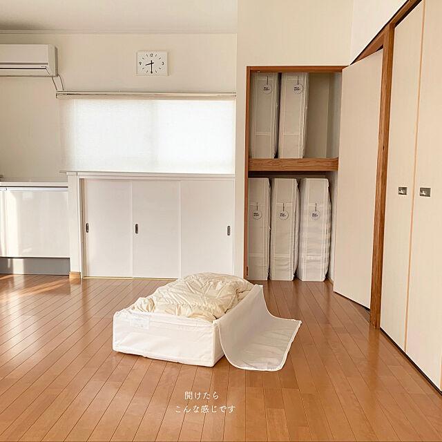 My Desk,整理整頓,持たない暮らし,布団収納,ミニマリスト,skubb,築40年,IKEA,すっきり暮らす,収納,リフォーム,ラベリング,シンプルライフ asukanの部屋