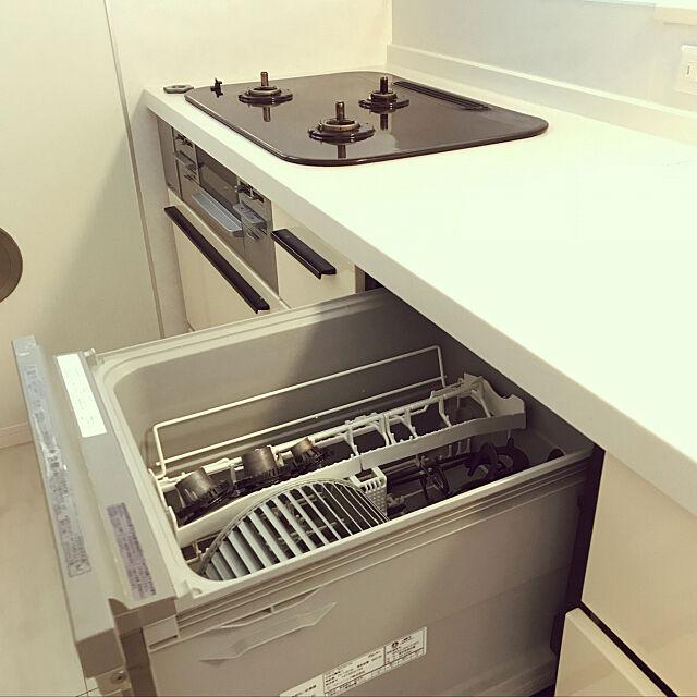 Kitchen,コンロの掃除,換気扇の掃除,食洗機 miyumiyuの部屋