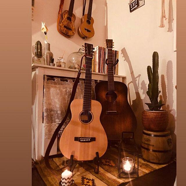 Ukulele,guitar,楽器コーナー,雑貨,照明,植物,ハンドメイド,DIY biwakoの部屋