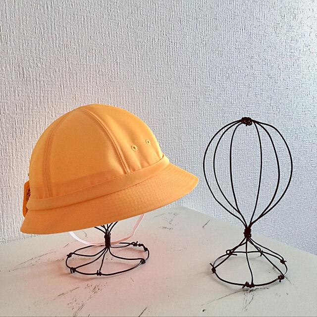 帽子スタンド,ワイヤークラフト,新生活,セリア,seria,子供部屋,兄妹,Overview,ワイヤークラフト初心者 tytn812の部屋