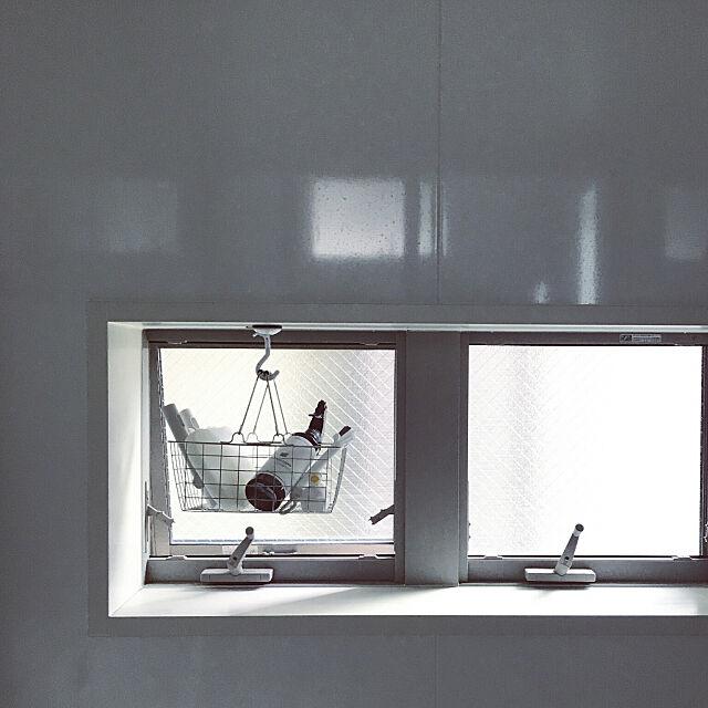 Bathroom,掃除道具,お風呂場,収納,お風呂掃除,掃除道具収納,バスルーム,吊り下げ収納 gomashioの部屋