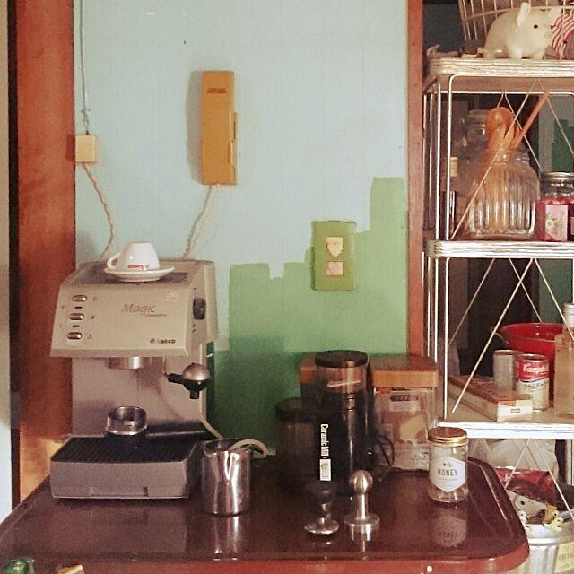 Kitchen,エスプレッソマシン,Saeco,magiccappuccino acopyの部屋