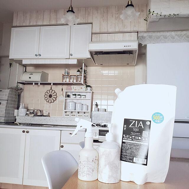 Kitchen,ホワイトインテリア,大掃除,3DK,除菌,現状回復OK,賃貸でも楽しく♪,賃貸でも可愛く♪,フォロー&いいね ありがとうございます♡,除菌グッズ,DlY キッチン pinonの部屋