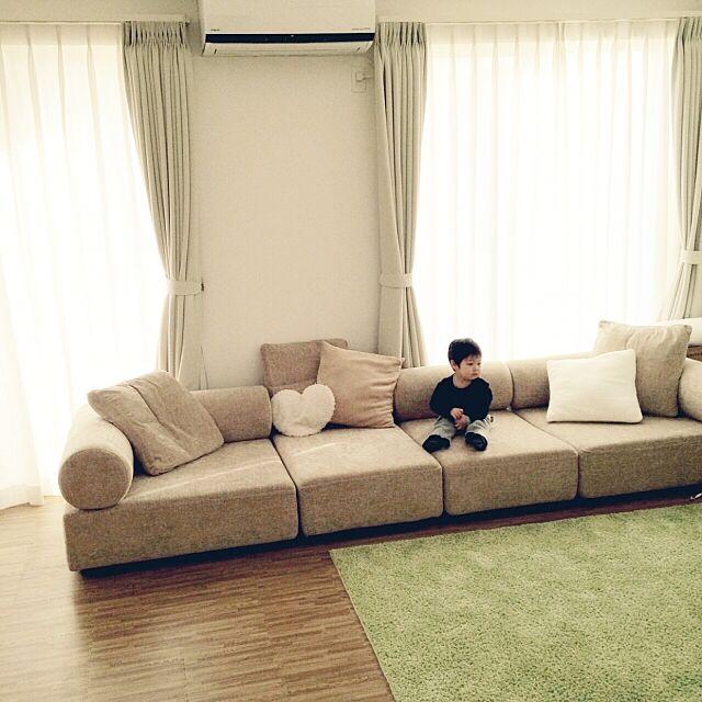Lounge,ソファ,FLEX,SPIGA,コンテストに参加♡ acchuの部屋