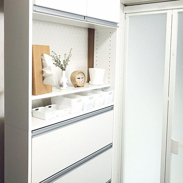Bathroom,使いやすい収納,効率UP,カトレケース,セリア,ホワイトインテリア,隙間収納棚,脱衣所収納棚,洗面所,脱衣所,狭いスペースを生かしたい,時間短縮,探しやすい収納,しまいやすい収納,こどものいる生活,クラフトパークK5,川口工器,奥行22㎝ pannalの部屋