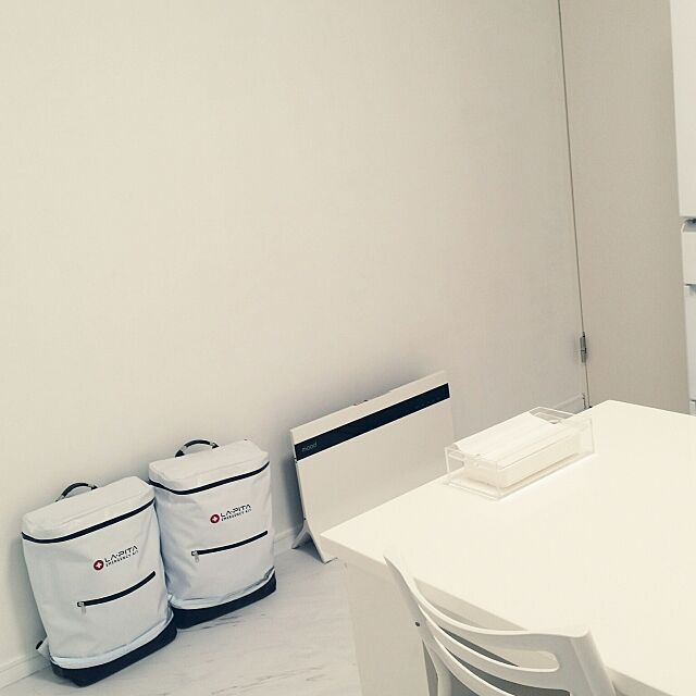 Kitchen,白が落ち着く^ ^,白黒,防災グッズ,防災用品 yuatsuの部屋