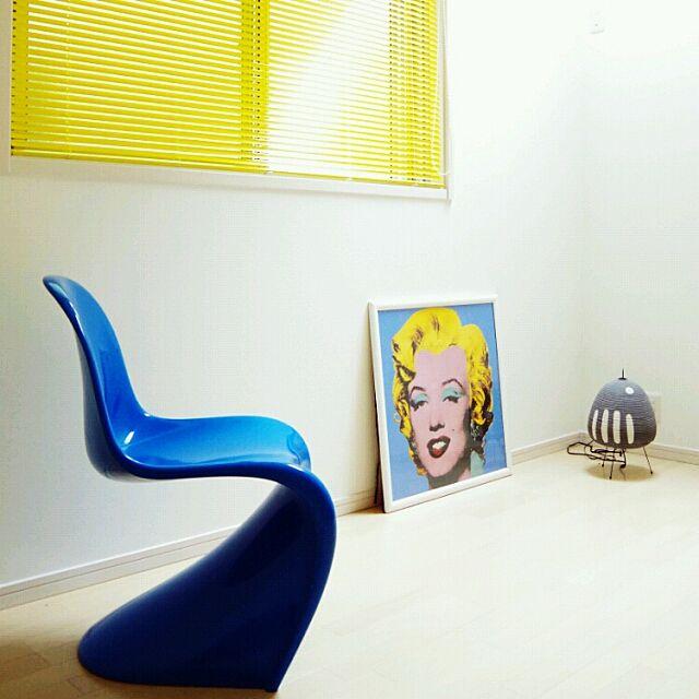 Overview,AKARI,ブラインド,イサムノグチ,Andy Warhol,パントンチェア,カラフル,建売,Panton,イサム・ノグチ meeの部屋