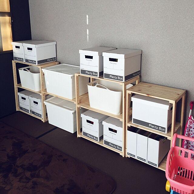 Overview,prentybox,プレンティボックス,セリア,ダイソー,収納棚,収納,イケア,IKEA,ウッドシェルフ,ニトリ,おもちゃ棚,おもちゃ,おもちゃ収納 napoの部屋