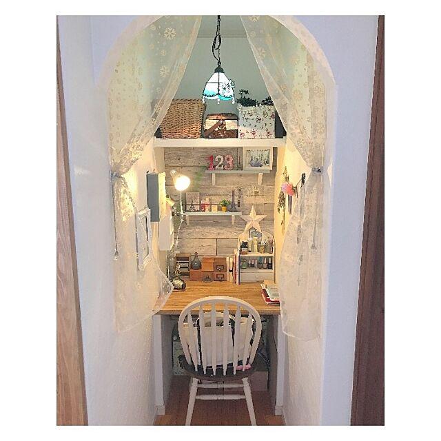 My Desk,ママスペース,ワークスペース,ナチュラル,ナチュラルインテリア Sakura_Ayumiの部屋