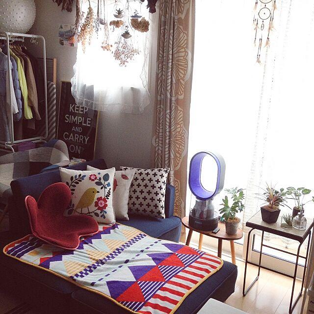 Lounge,一人暮らし,田舎暮らし,北欧,雑貨,ドライフラワー,ソファ yapingの部屋